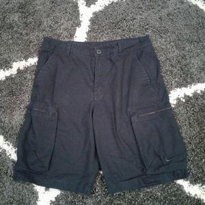 Mens Navy Blue Nike Shorts